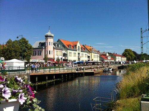 Market in Ronneby, Sweden - Ronneby, Blekinge
