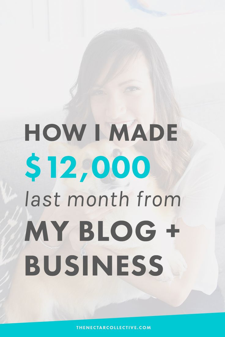 How I Made $12,000 Last Month From My Blog + Business | I'm sharing my income report, and the tools and tips that have helped me earn $10,000+ every month in 2015 from my blog and online business. This post is perfect for bloggers, freelancers, and creative entrepreneurs who want to make money online. Let's do this!