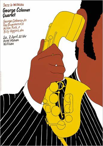 All That Jazz: Posters by Niklaus Troxler: Design Observer