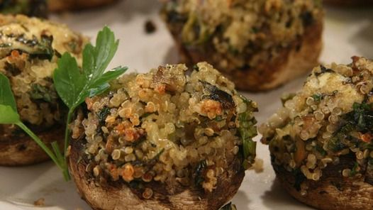 Stuffed Mushrooms - Janella Purcell  Good Chef/Bad Chef