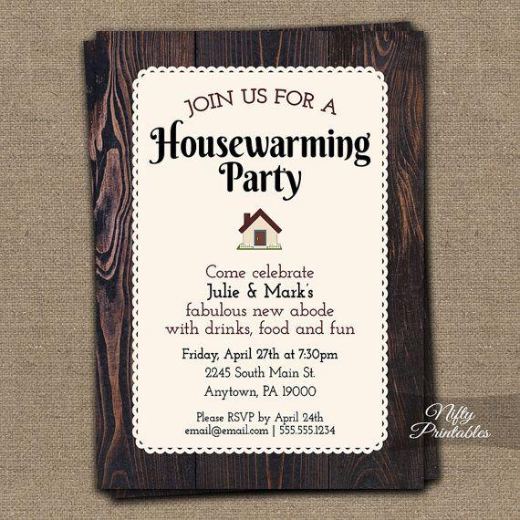 Best 25+ Housewarming Party Invitations Ideas On Pinterest