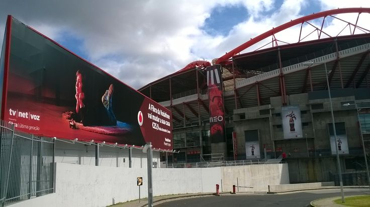 Billboard at Benfica stadium, Lisbon