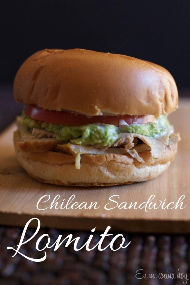 Lomito, sandwich chileno