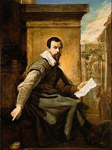 Domenico Fetti -Ritratto di un uomo con un foglio di musica (Getty Museum)