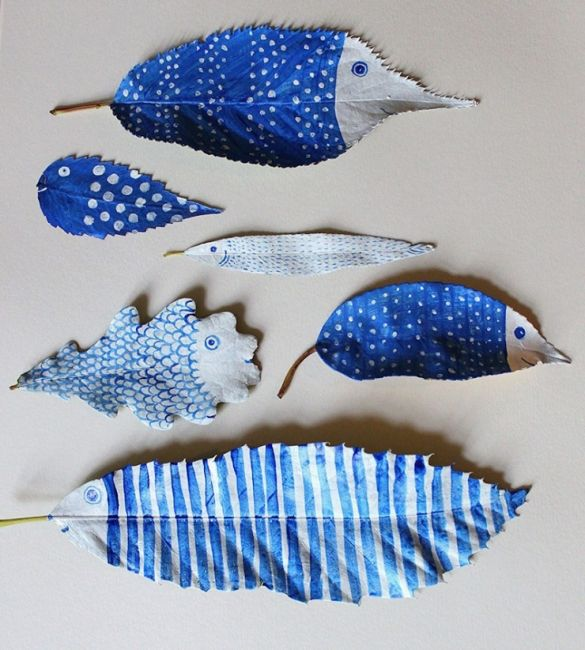 Hazel Terry Leaf Fish