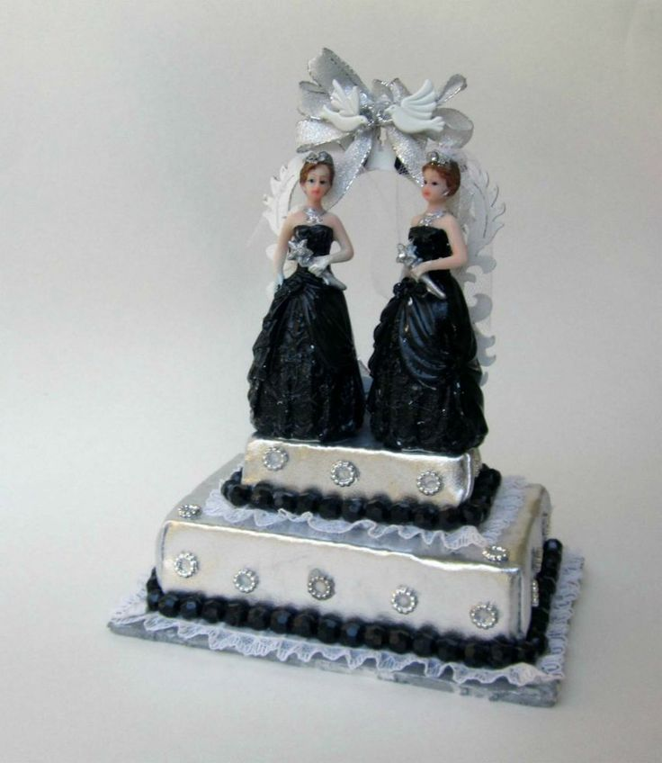 lesbian wedding cake topper 17 best images about and wedding cake toppers 5498