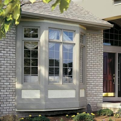 Jeld Wen 73 5 In X 43 In V 4500 Series Bay Vinyl Window