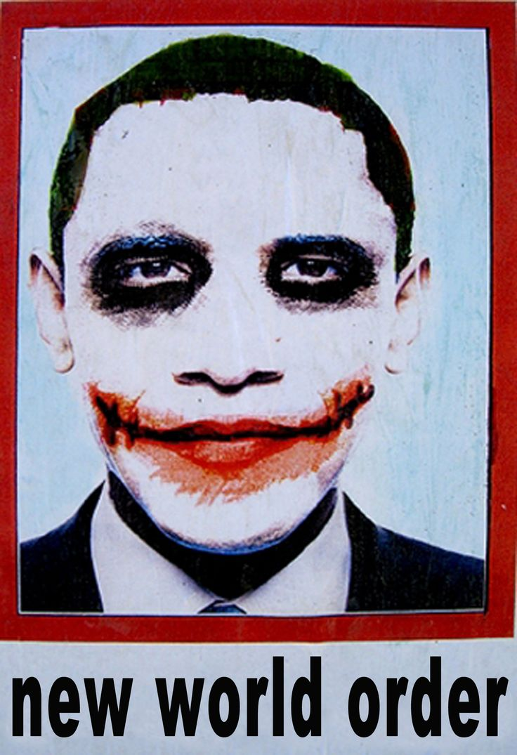 » 'JOKER' Obama Posters to go viral Alex Jones' Infowars: There's a war on for your mind!