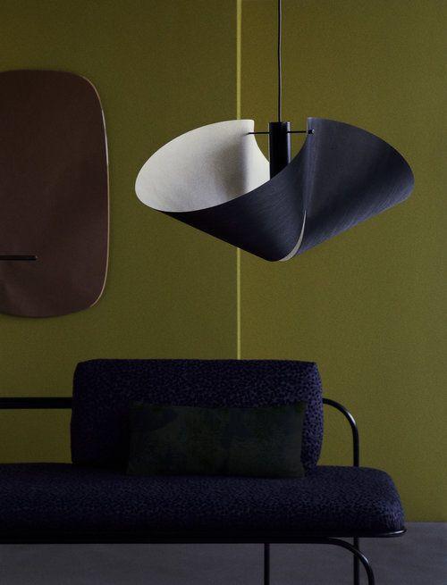 Vuono pendant lamp and Lepo daybed www.studiofinna.com.
