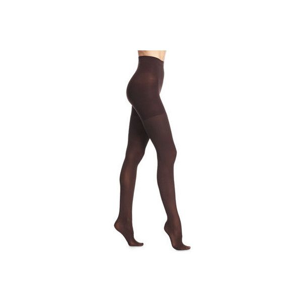 Spanx Luxe Sheer Tights (110 ILS) ❤ liked on Polyvore featuring intimates, hosiery, tights, bittersweet, pantyhose stockings, pantyhose tights, compression pantyhose, spanx tights and compression tights