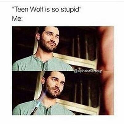 Nadie se mete con teen wolf