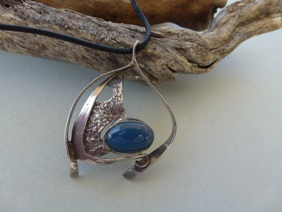 Free shipping  Blue Eye  Sterling silver by GeorgiaCollection, €75.00