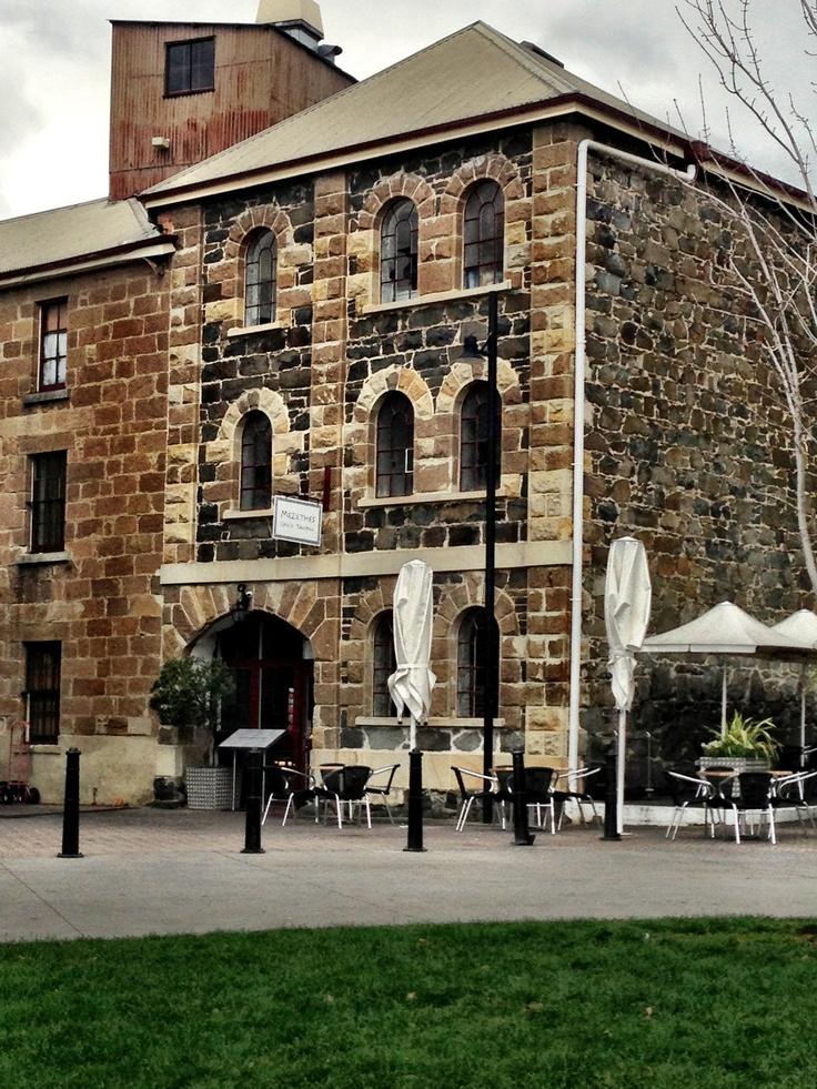 Hobart, Tasmania Famous Salamanca Place,