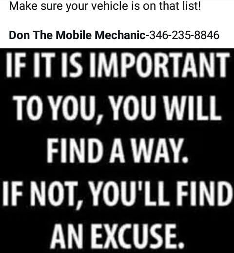 #take #care #of #your #car #it #will #take #care #of #you #put #it #on #your #list #of #importance's #mobile #mechanic #donthemobilemechanic