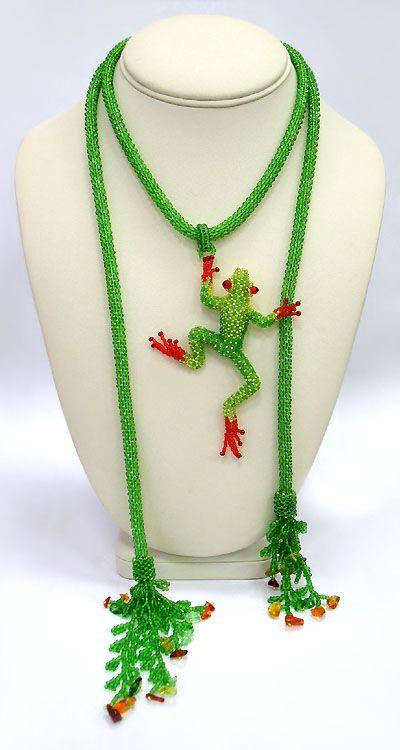 3D Nature Inspired Beadwork by Julia Turova - The Beading Gem's Journal
