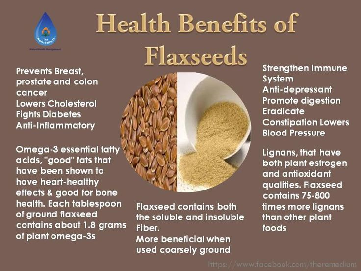 Health benefits of flax seeds, I sprinkle it on everything!