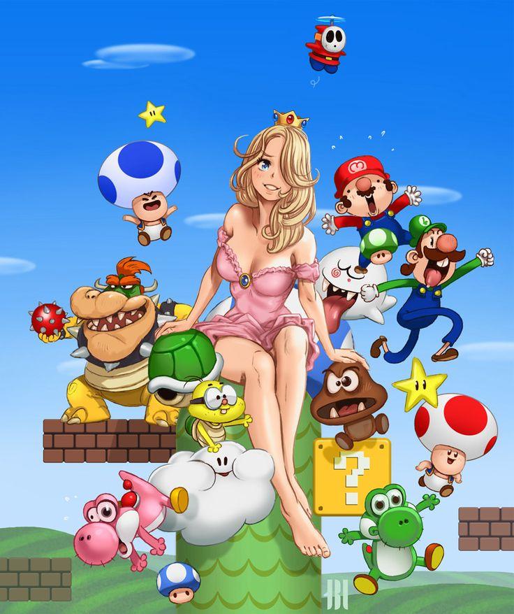 "Illustration : ""Crazy Mario"", Jean-Baptiste Legros"