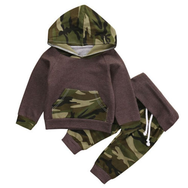 $7.27 (Buy here: https://alitems.com/g/1e8d114494ebda23ff8b16525dc3e8/?i=5&ulp=https%3A%2F%2Fwww.aliexpress.com%2Fitem%2FNewborn-Baby-Boys-Camouflage-Hooded-Tops-Long-Pants-2Pcs-Outfits-Set-Cute-Kids-Warm-Clothes%2F32789476987.html ) Newborn Baby Boys Camouflage Hooded Tops +Long Pants 2Pcs Outfits Set Cute Kids Warm Clothes for just $7.27