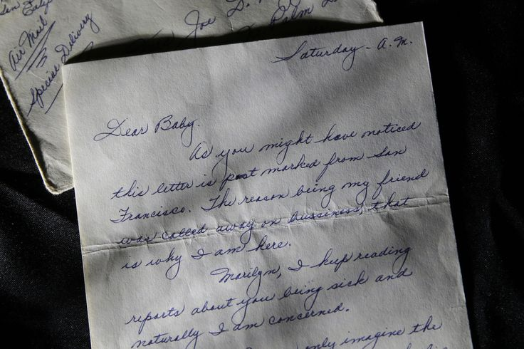 Marilyn Monroes Lost Love Letters From Joe DiMaggio Go Up For Sale