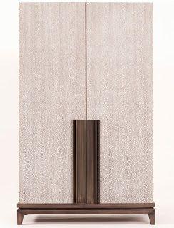 Wooden sideboard DAMOCLE - ARMANI / CASA