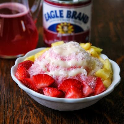 Mangoes and Palm Trees: Homemade Hawaiian Shave Ice. This looks like a great recipe.