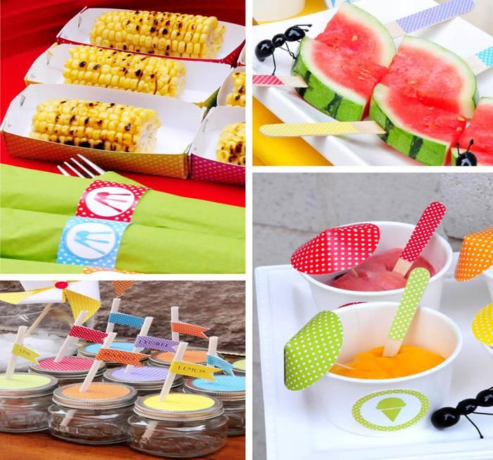 138 best images about barbeque picnic fun on pinterest for What to serve at a bbq birthday party