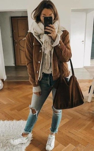Cute Winter Outfits for Teenage Girls #outfitideas…