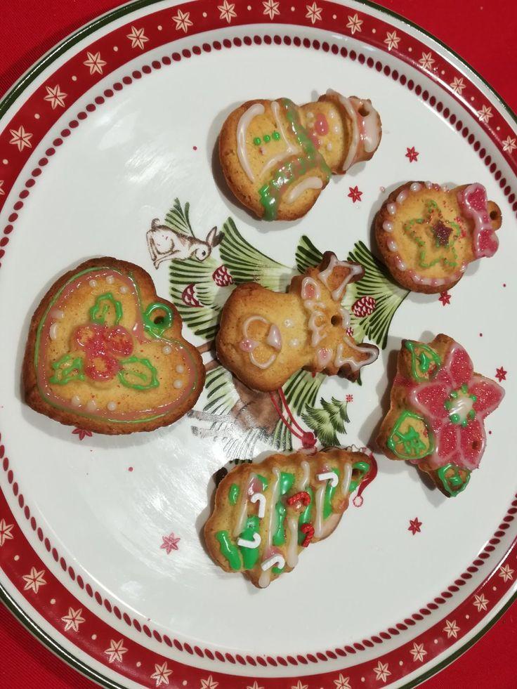 Biscotti cannella e zenzero natalizi 🎄 christmas biscuits 🍪🍪🍪