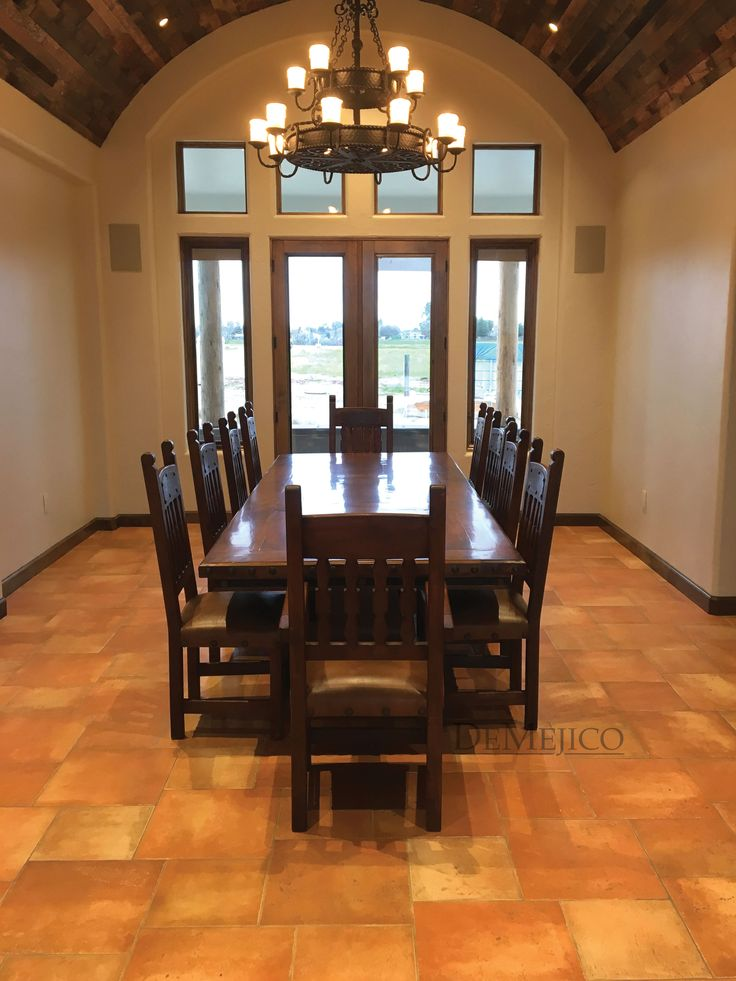 Weu0027re Loving The Result Of This Custom Spanish Dining Set. It Shows Off