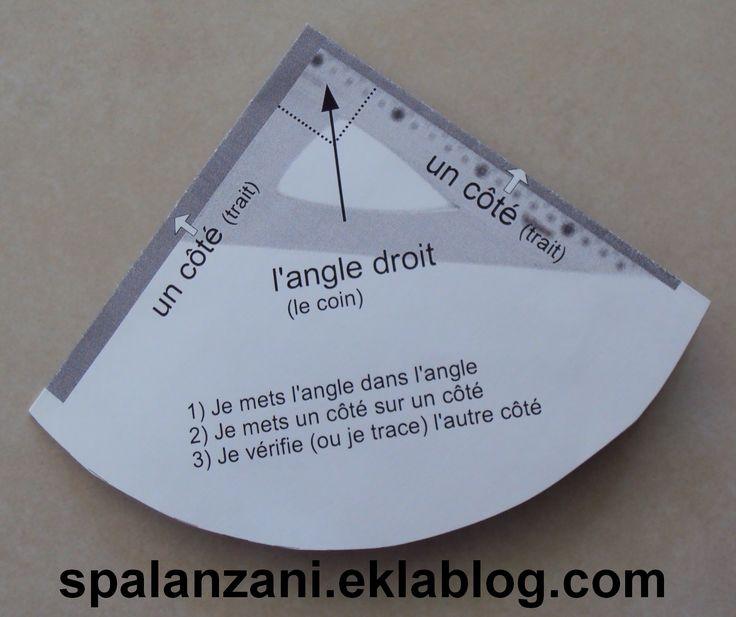 """Gabarit d'angle droit à imprimer avec """"formule magique"""""""