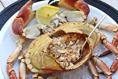 M s de 1000 ideas sobre recetas de carne de cangrejo en for Cocinar un centollo