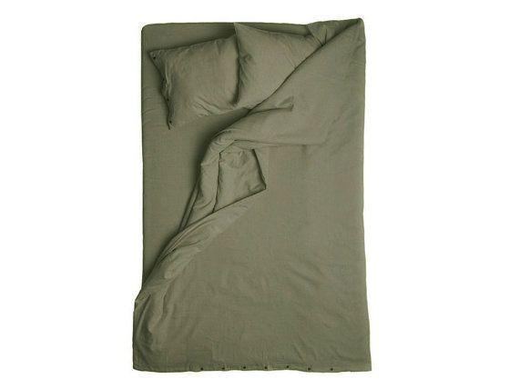 moss green linen duvets covers king size duvet queen duvet double or full size bedding twin duvet covers in soft natural linen