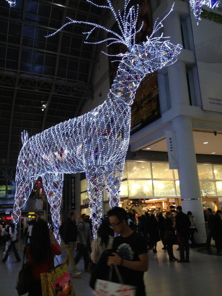 Christmas, Winter, Eaton Centre - Toronto 2011