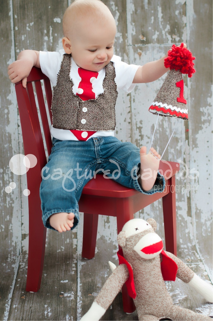 I would never make my baby boy wearthis, but it's too cute not to pin. (Newborn2T Boys Brown Tweed Tie Vest Onesie by sweetlilytutus)