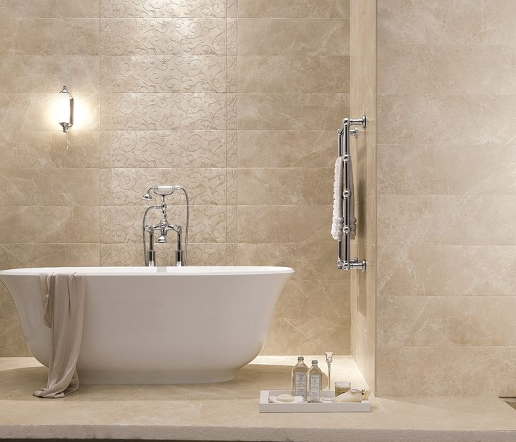 Matt Cream MArble Tiles - Italian Tile and Stone Dublin Σπιτι - ideen für badezimmer fliesen