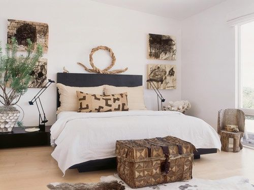 African / ethnic inspired bedroom