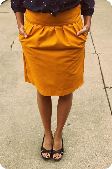 This skirt is perfect. Need to make this for autumn! :) -- feeling a little (a lot) crafty thewinthropchronicles.com