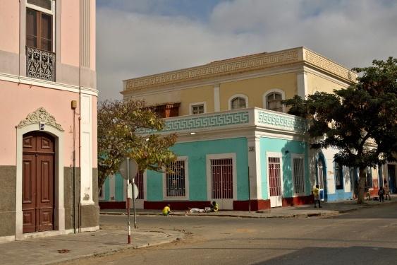 Koloniale gebouwen in Lubango