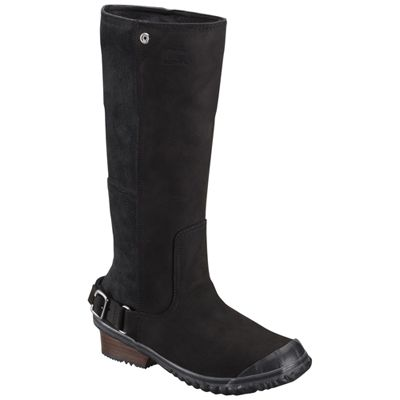 Sorel Black Grill Slim Women Boot ! Buy now at GetShoes.ca