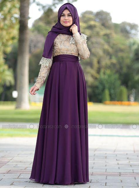 20 Robes Hijab De Soirée Turques Hiver et été 2018 , Hijab Fashion and Chic  Style
