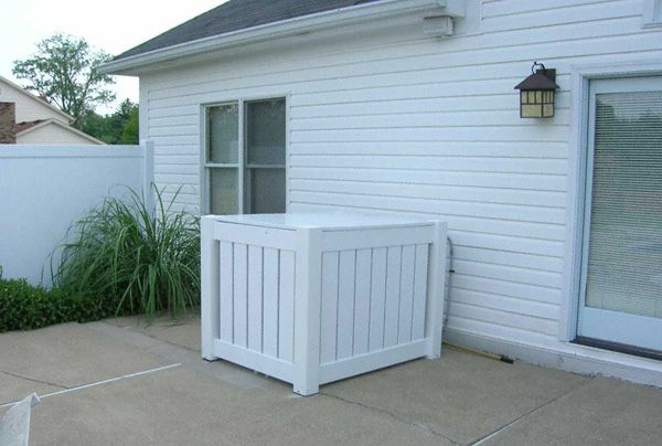 Best 20 Hide Ac Units Ideas On Pinterest Vertical Air Conditioner Ac Unit Cover And Fencing