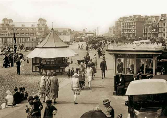 Promenade & South Parade Pier, Southsea, c1925