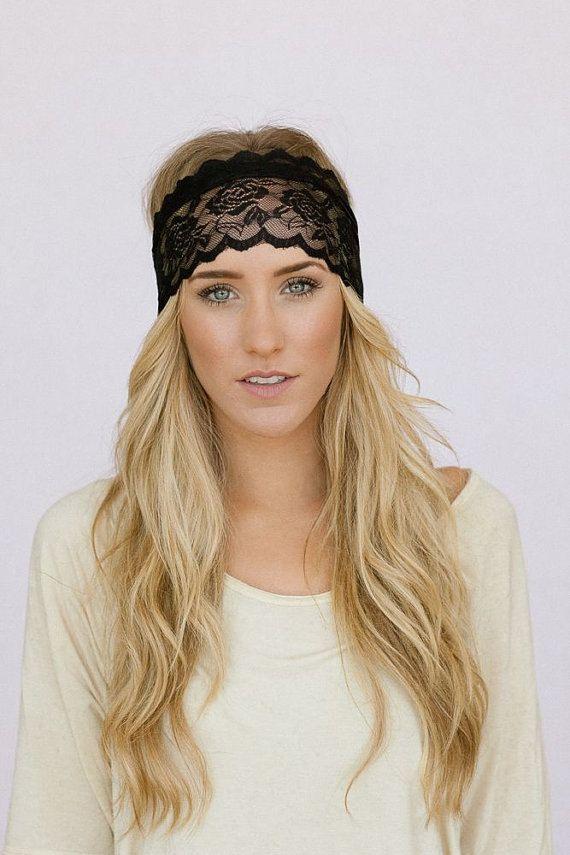 Wide Lace Headband | H...