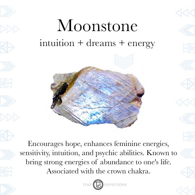Moonstone | Gemstones & Sacred Materials | Tiny Devotions | Mala Beads