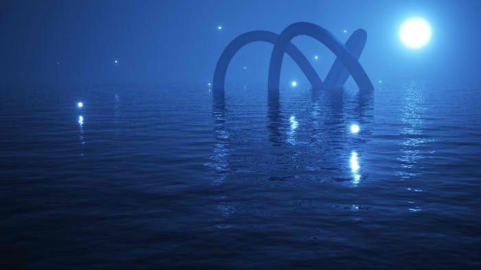 арт светлячки над водой - Поиск в Google