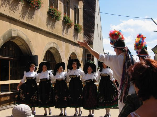 Here's what happened during visits to Nice, in the south of France and Mittelbergheim in the Alsace during their Fete du Vin. Amusing and definitely memorable. http://www.francetraveltips.com/encounters-nice-mittelbergheim-france/