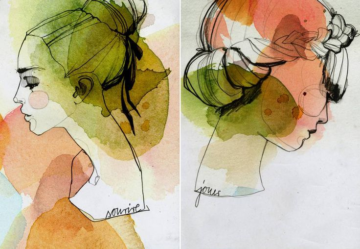 beautiful illustrations fromEkaterina Koroleva!