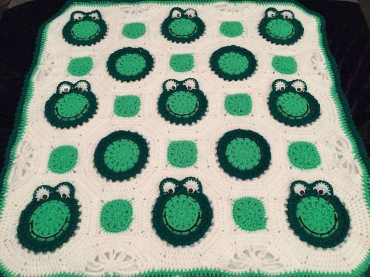 Vauvan peitto, sammakko - BiBa