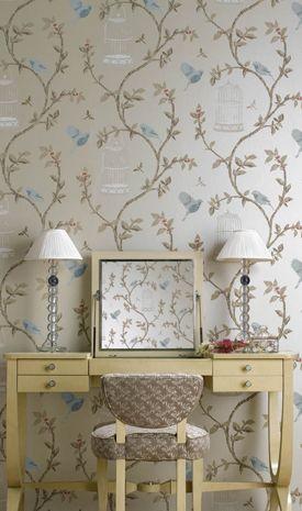 Birdcage Walk: Osborne & Little wallpaper by Nina Campbell