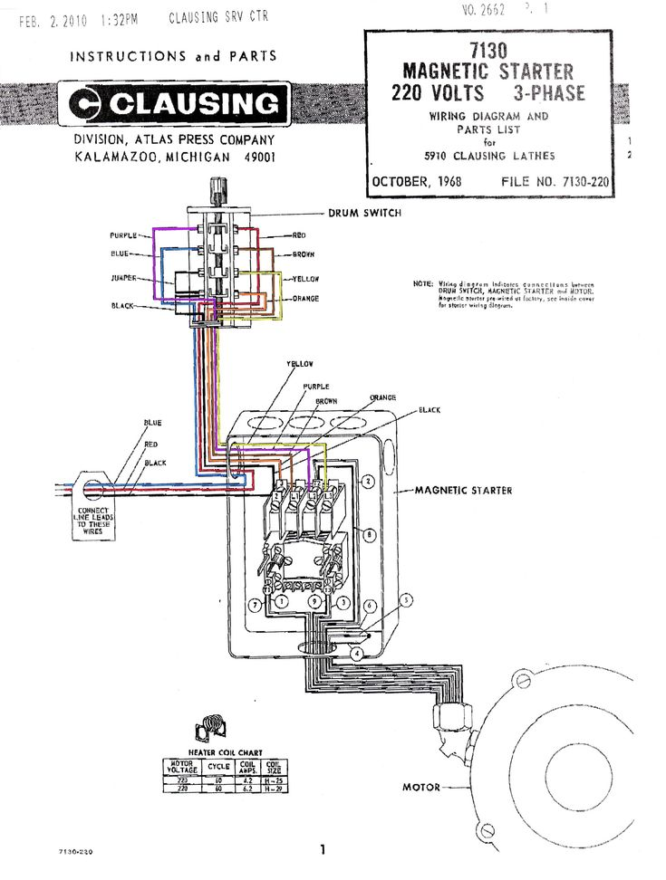 New Contactor Wiring Diagram Single Phase #diagram #
